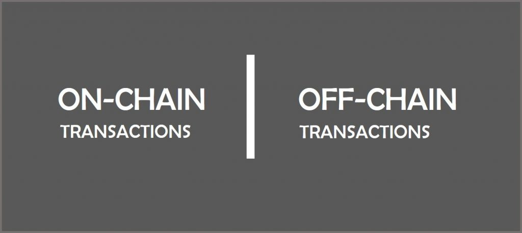 Understanding On-chain and Off-chain Transactions