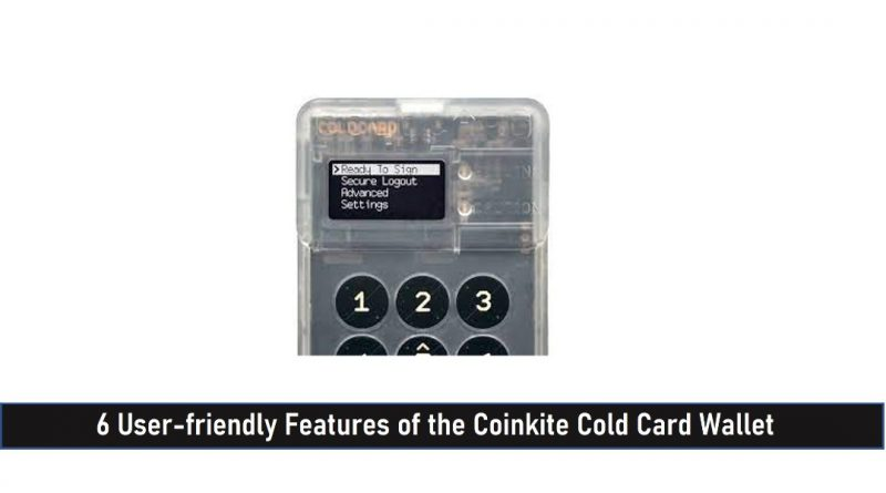 Coinkite Cold Card Wallet