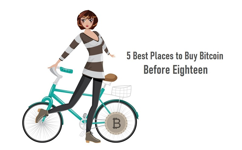 5 Best Places to Buy Bitcoin before Eighteen